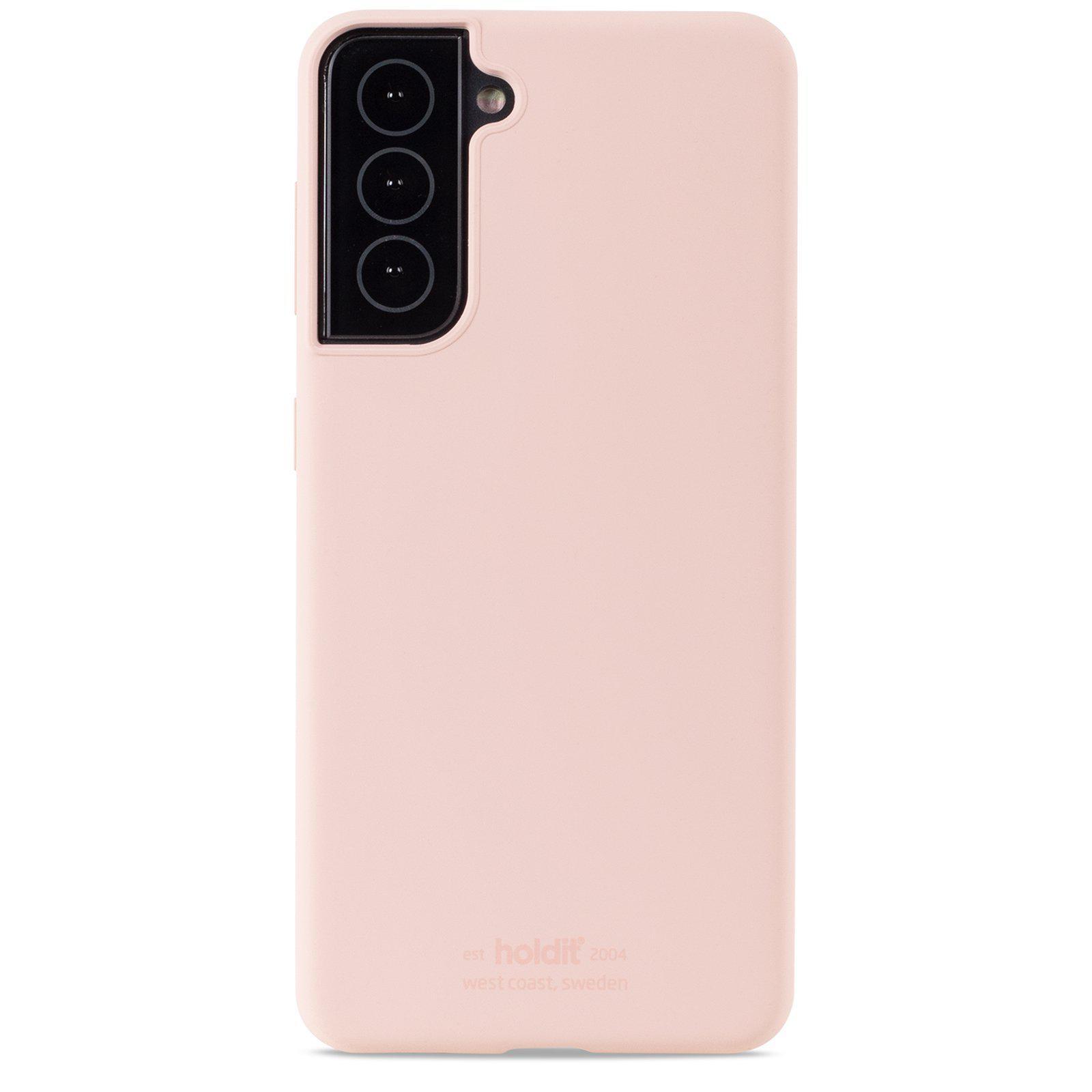 Deksel Silikon Samsung Galaxy S21 Blush Pink
