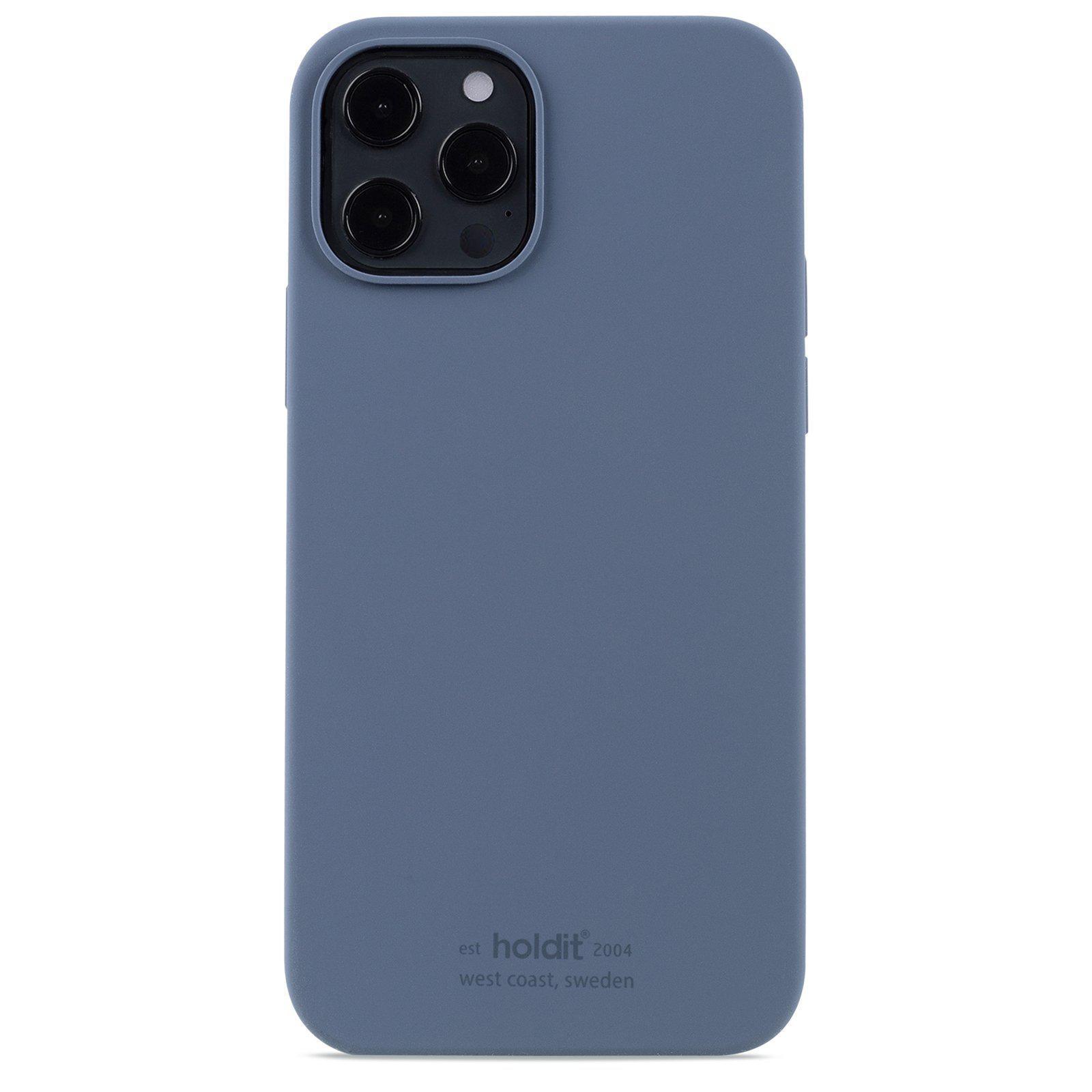 Deksel Silikon iPhone 12/12 Pro Pacific Blue