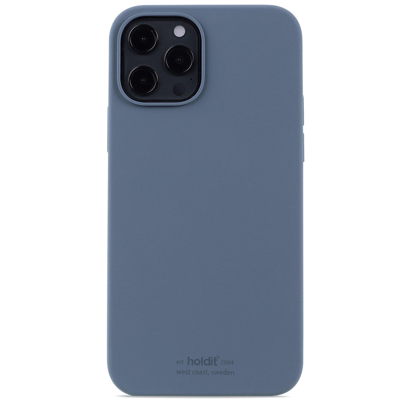 Deksel Silikon iPhone 12 Pro Max Pacific Blue