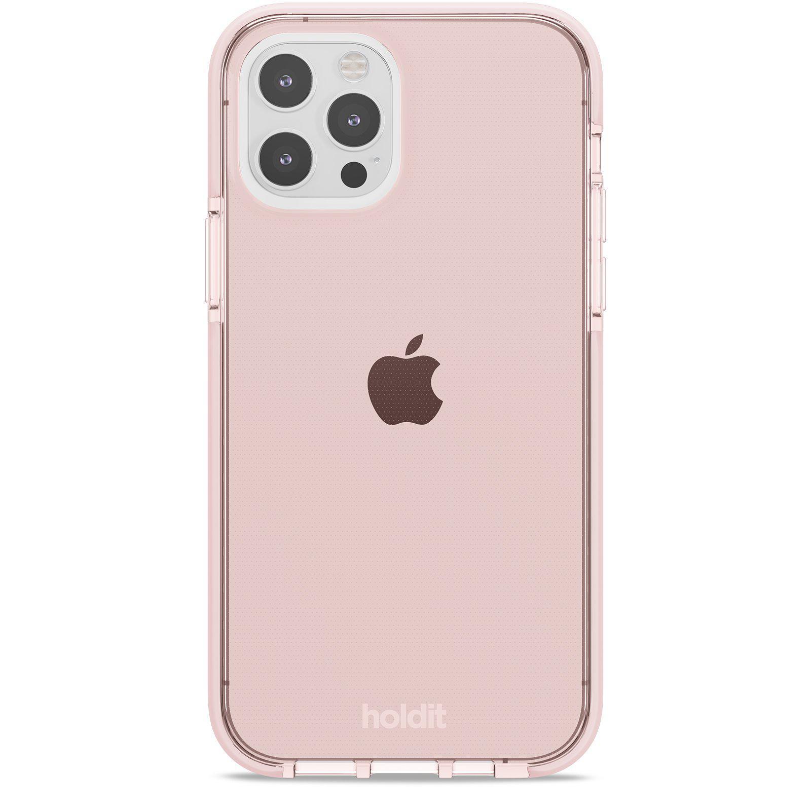 Deksel Seethru iPhone 12/12 Pro Blush Pink