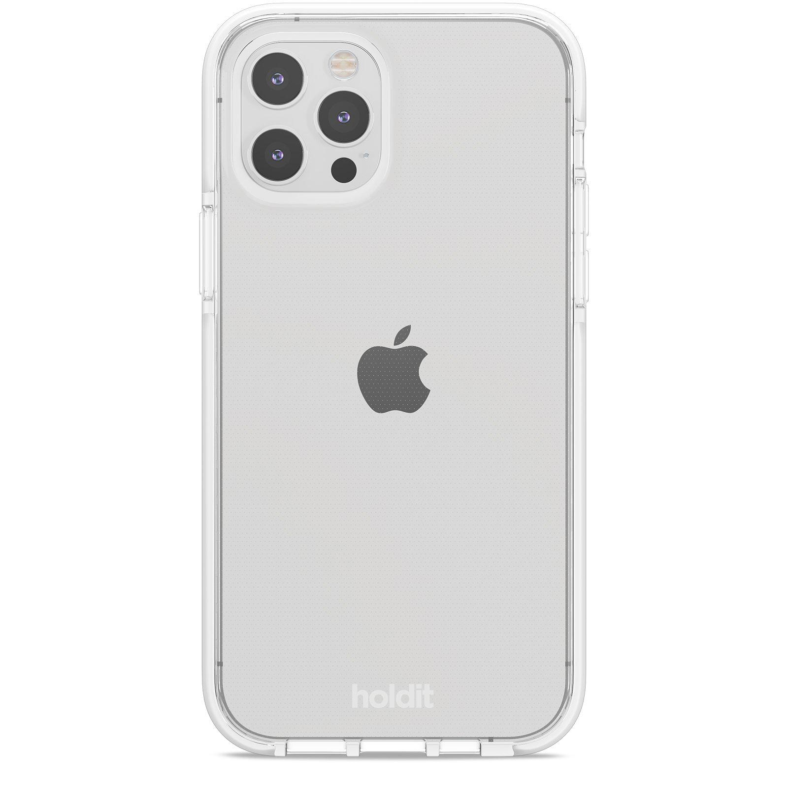 Deksel Seethru iPhone 12/12 Pro White