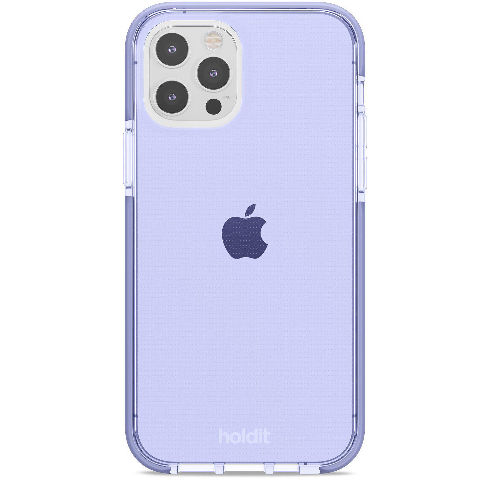 Deksel Seethru iPhone 12/12 Pro Lavender