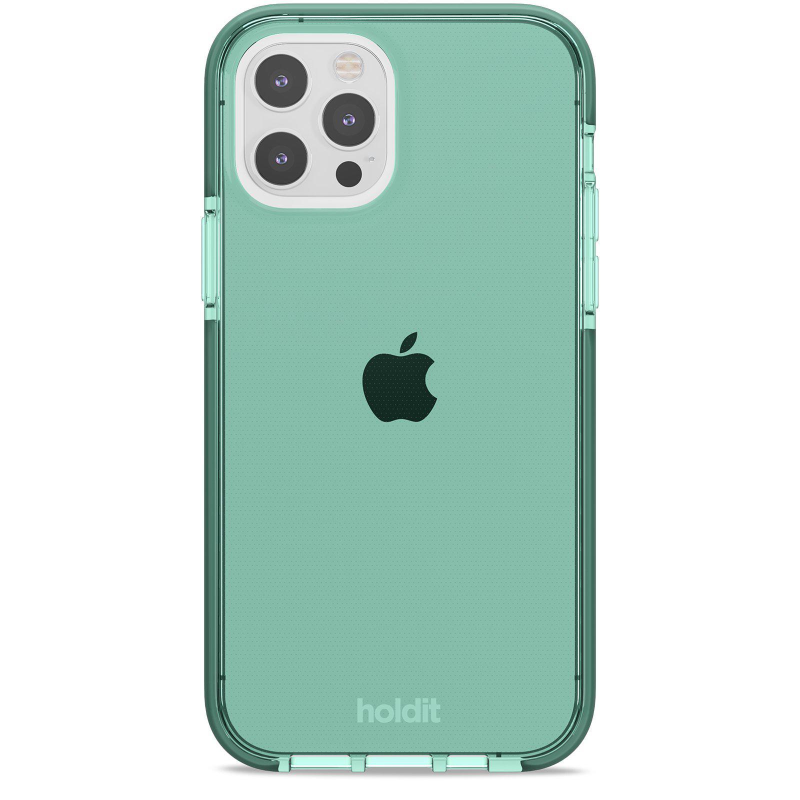 Deksel Seethru iPhone 12/12 Pro Moss Green