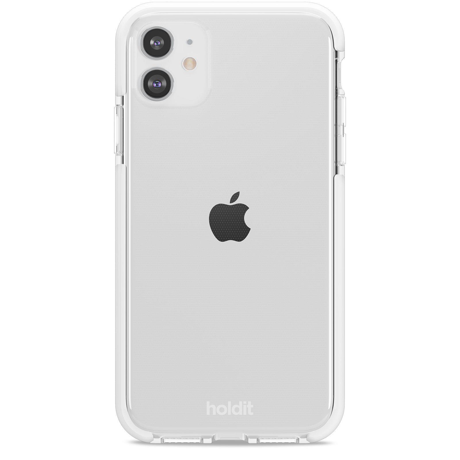 Deksel Seethru iPhone 11/XR White