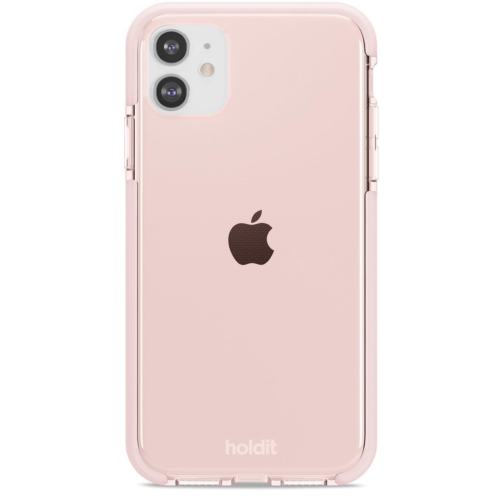 Deksel Seethru iPhone 11/XR Blush Pink