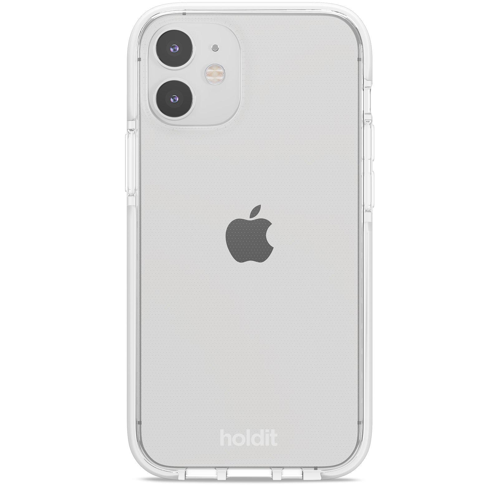 Deksel Seethru iPhone 12 Mini White