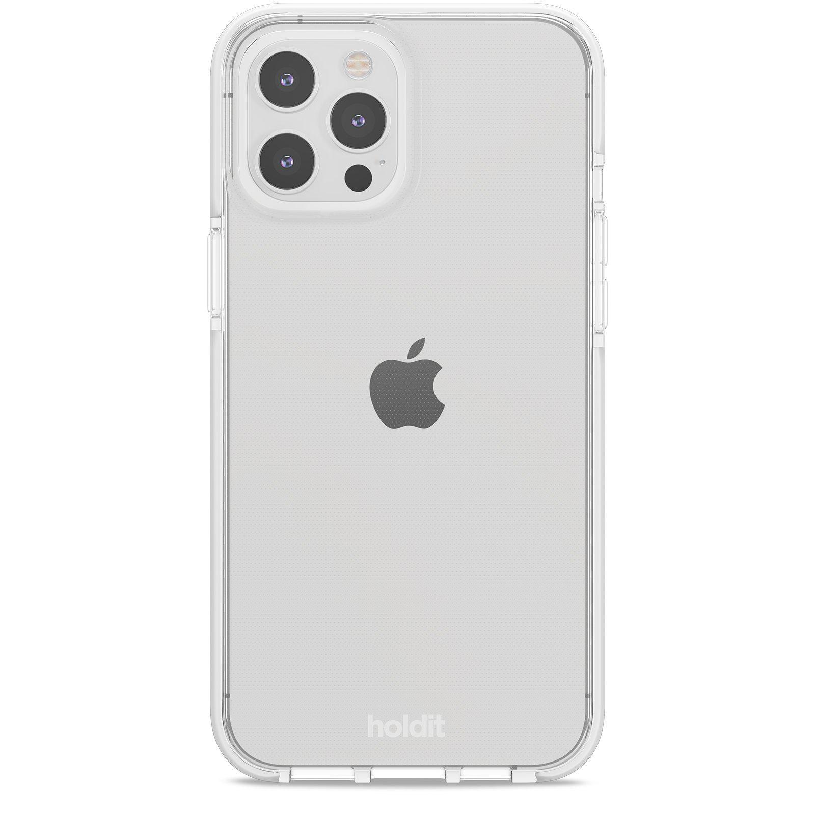 Deksel Seethru iPhone 12 Pro Max White