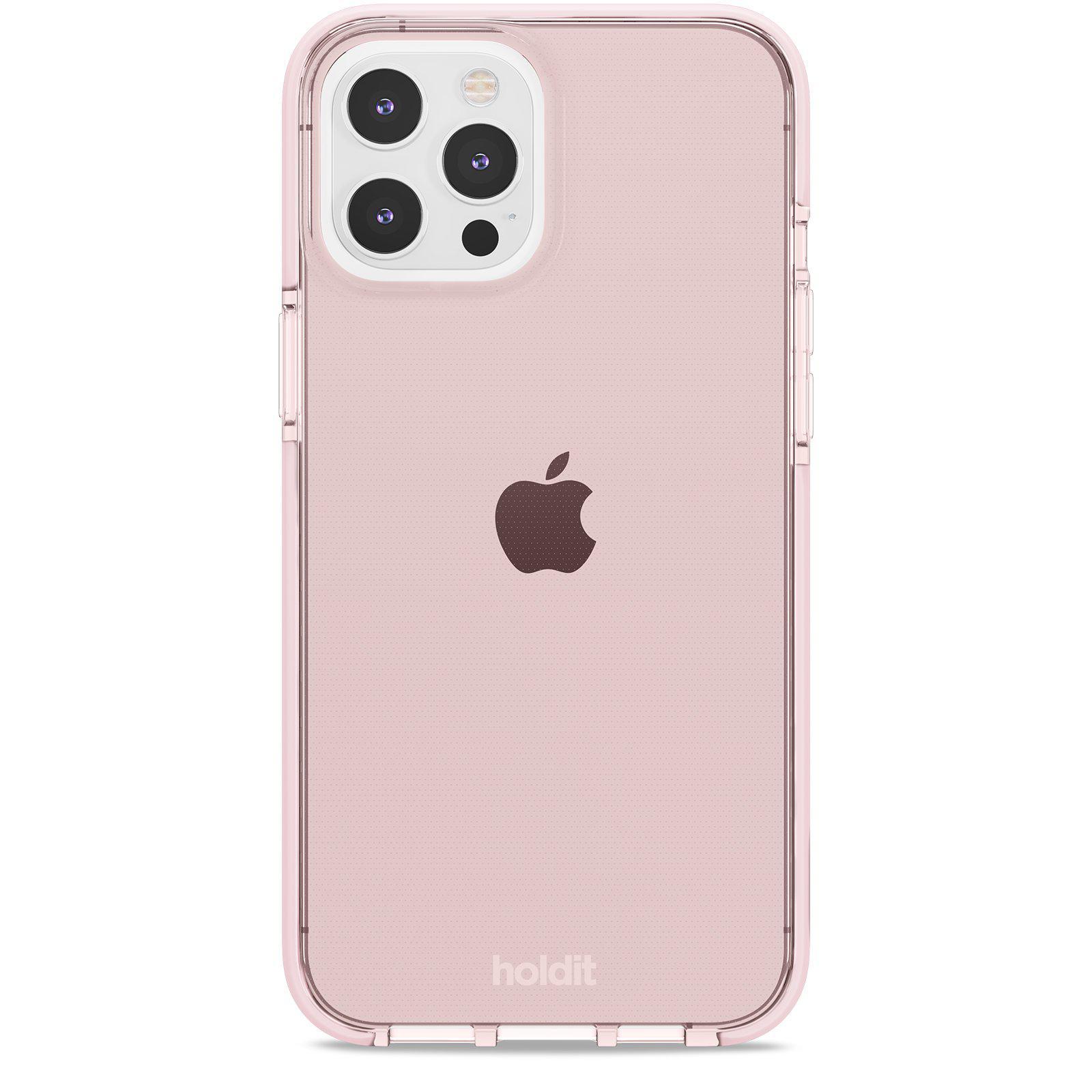 Deksel Seethru iPhone 12 Pro Max Blush Pink