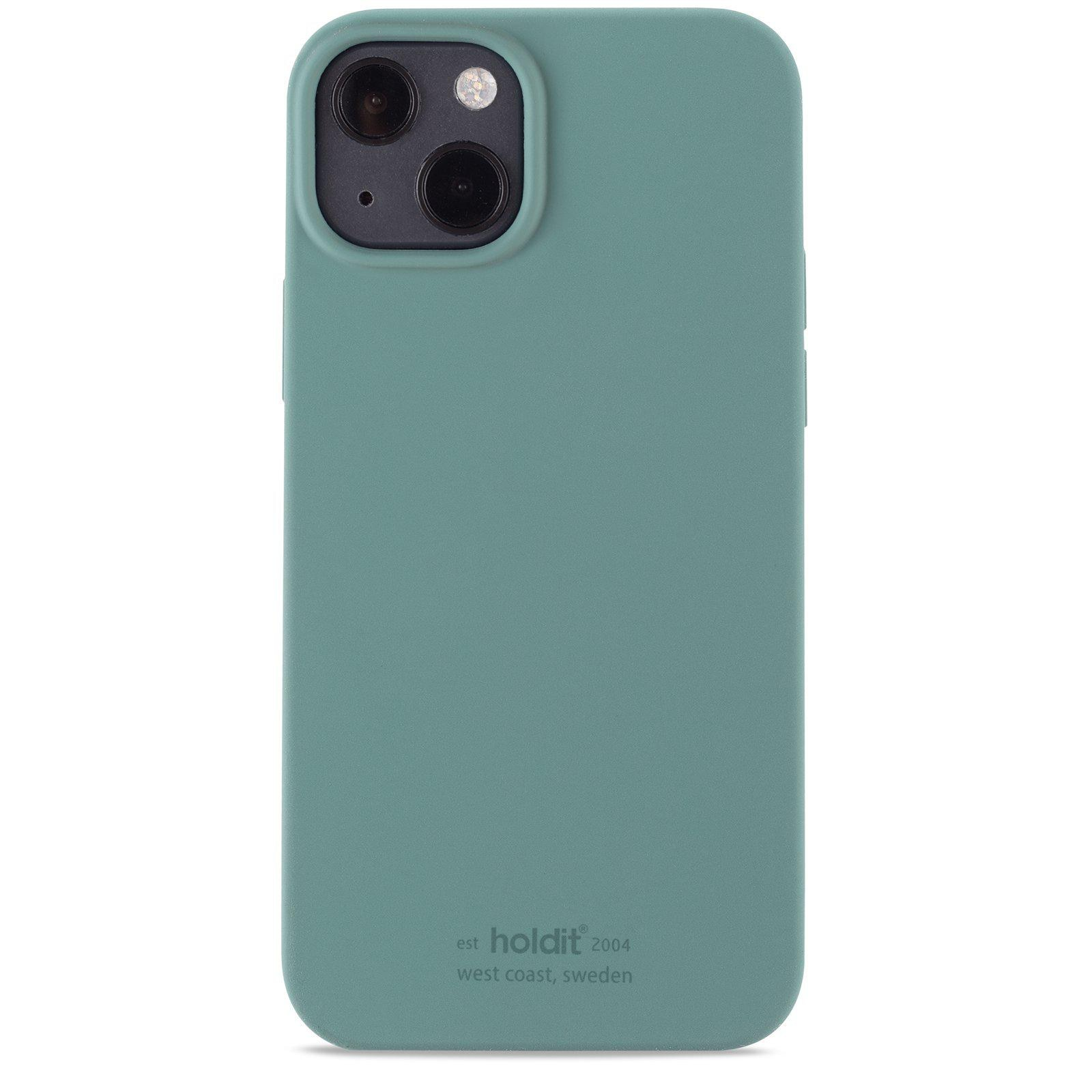 Deksel Silikon iPhone 13 Moss Green