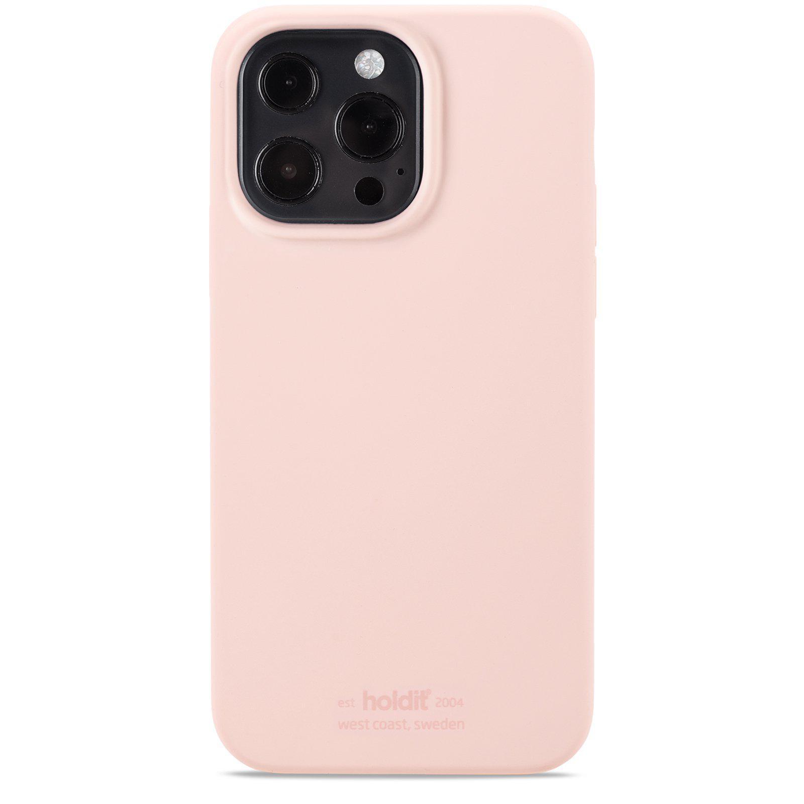 Deksel Silikon iPhone 13 Pro Max Blush Pink
