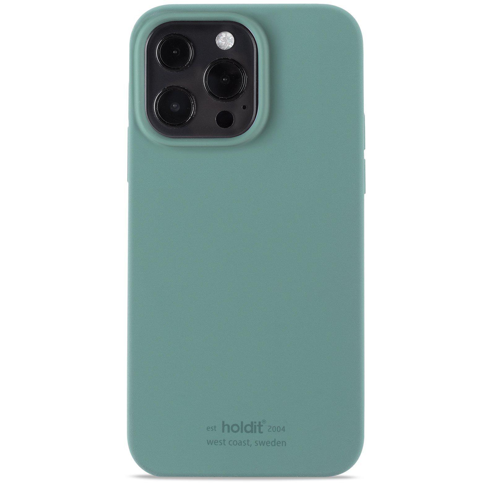 Deksel Silikon iPhone 13 Pro Moss Green