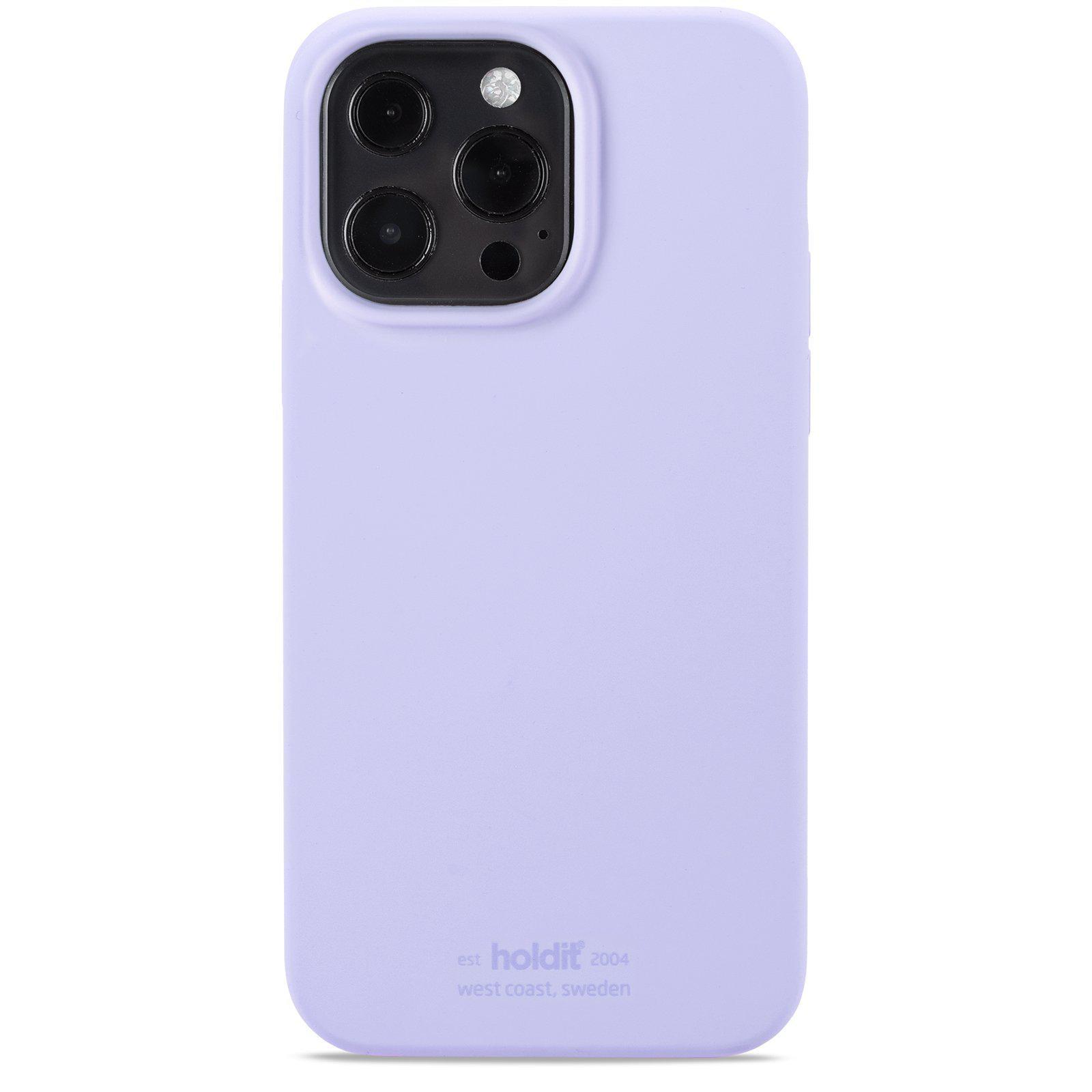 Deksel Silikon iPhone 13 Pro Max Lavender