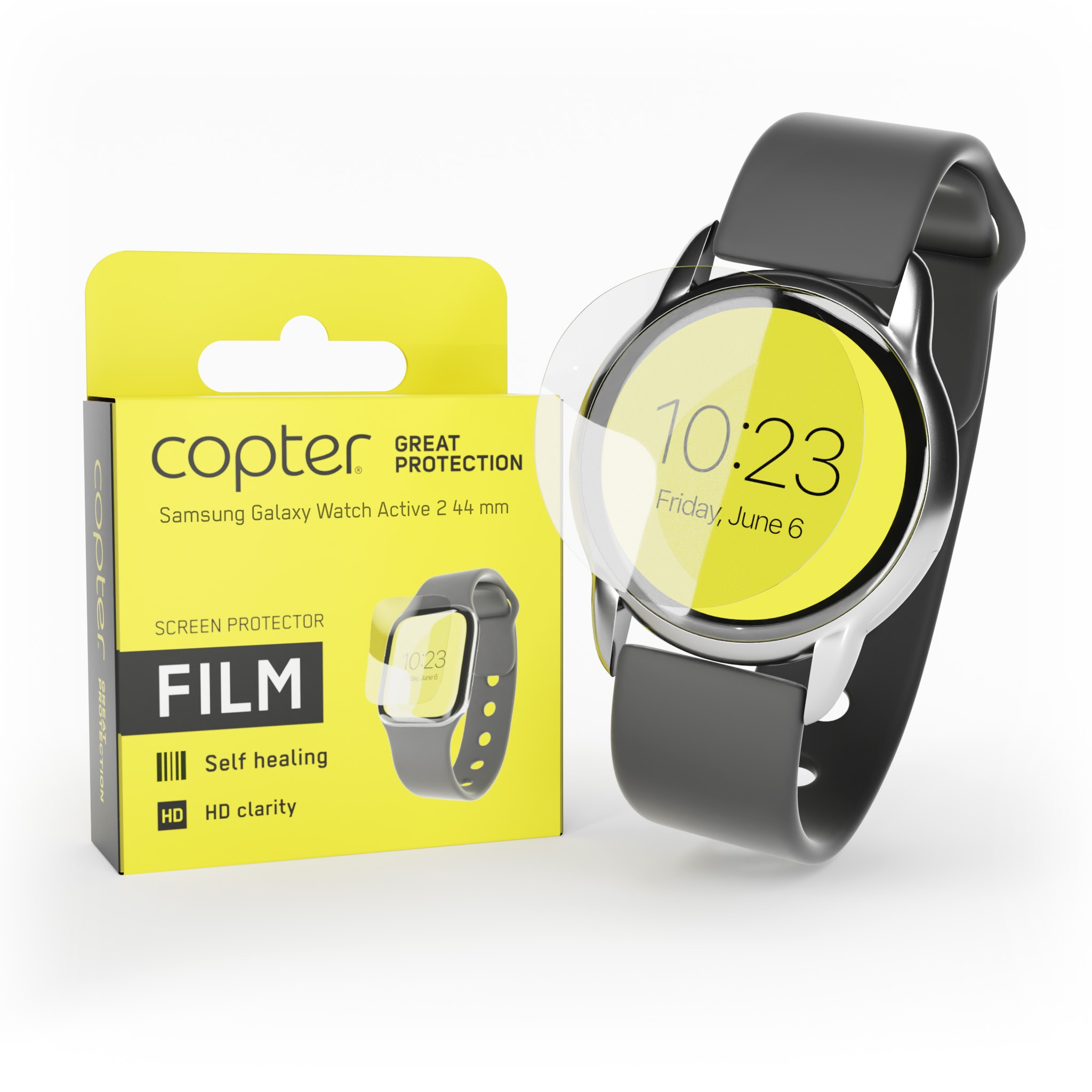 Screenprotector Samsung Galaxy Watch Active 2 44mm
