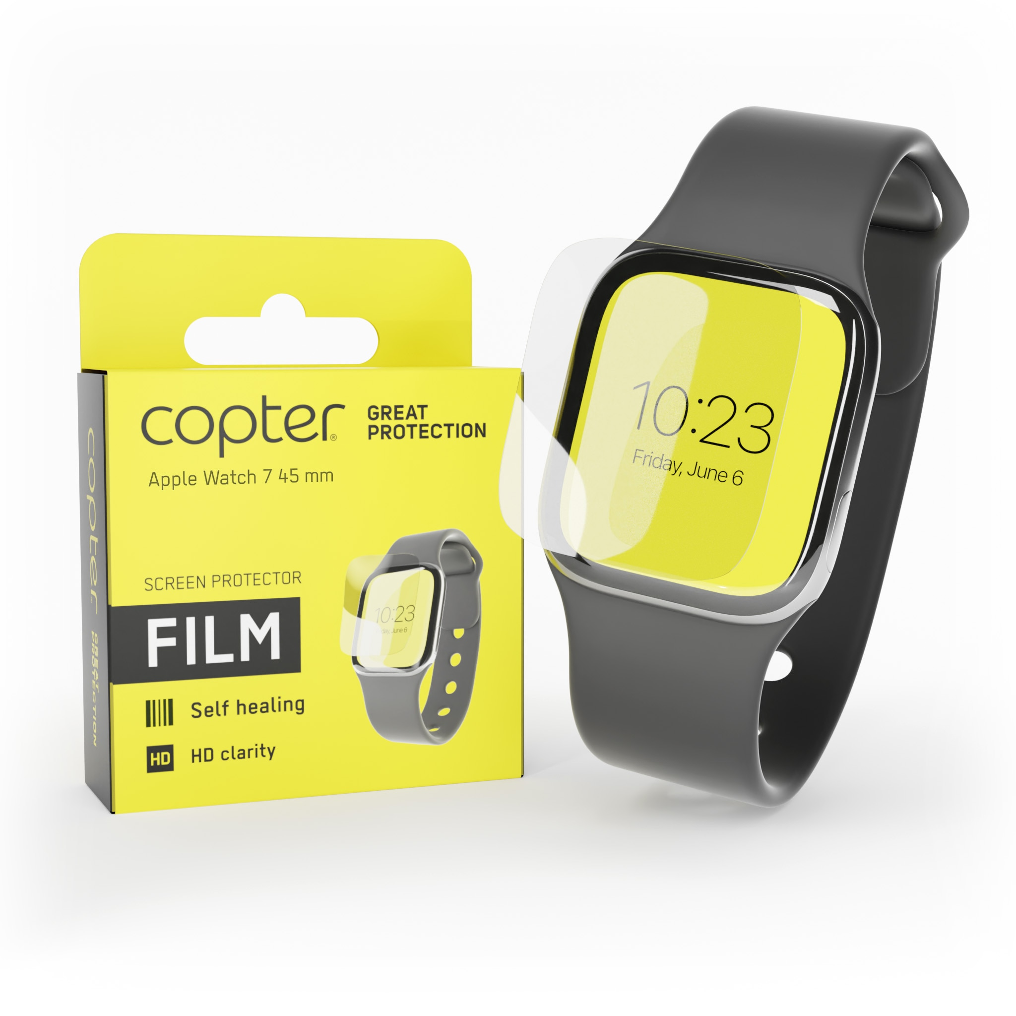 Screenprotector Apple Watch 45mm