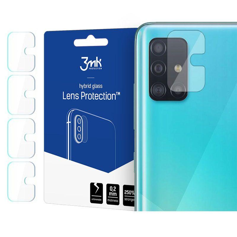 0.2mm Glass Lens Protection Galaxy A71 (4-pack)