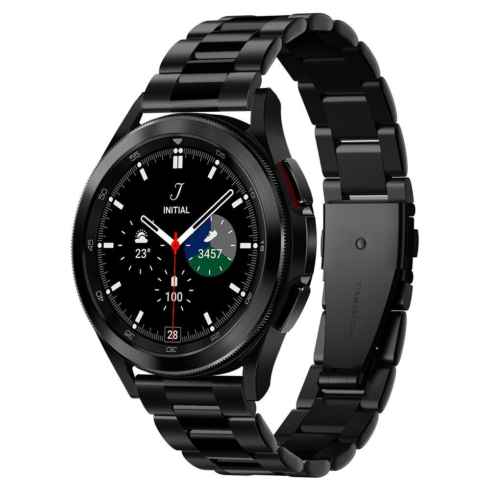 Galaxy Watch 4 40/42/44/46 m Armband Modern Fit Black