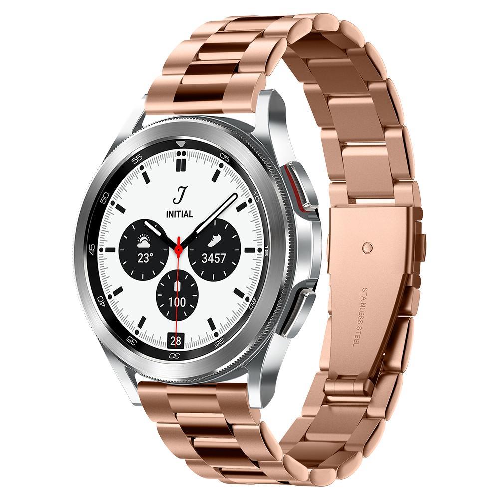 Galaxy Watch 4 40/42/44/46 m Armband Modern Fit Rose Gold