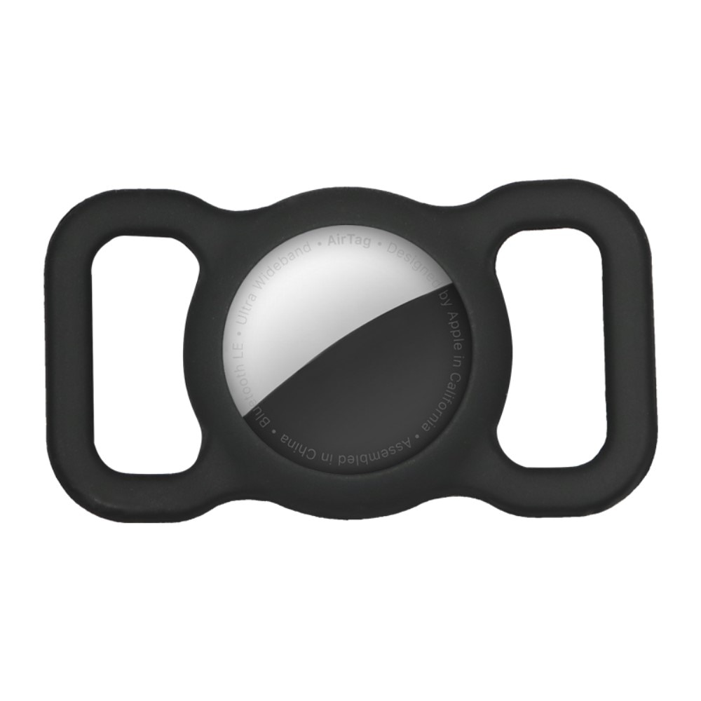 Apple AirTag deksel for hundehalsbånd svart