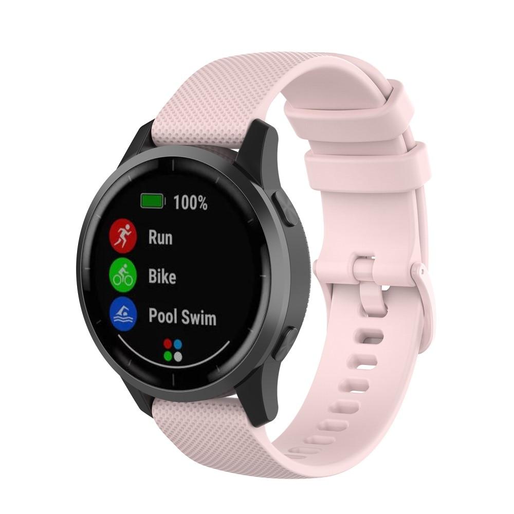 Silikonarmbånd Garmin Vivoactive 4/Venu 2 rosa