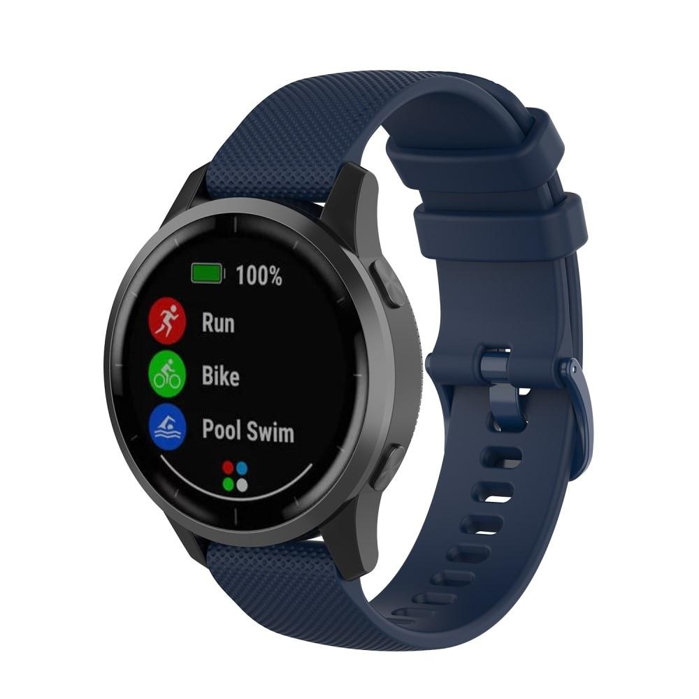 Silikonarmbånd Garmin Vivoactive 4/Venu 2 blå
