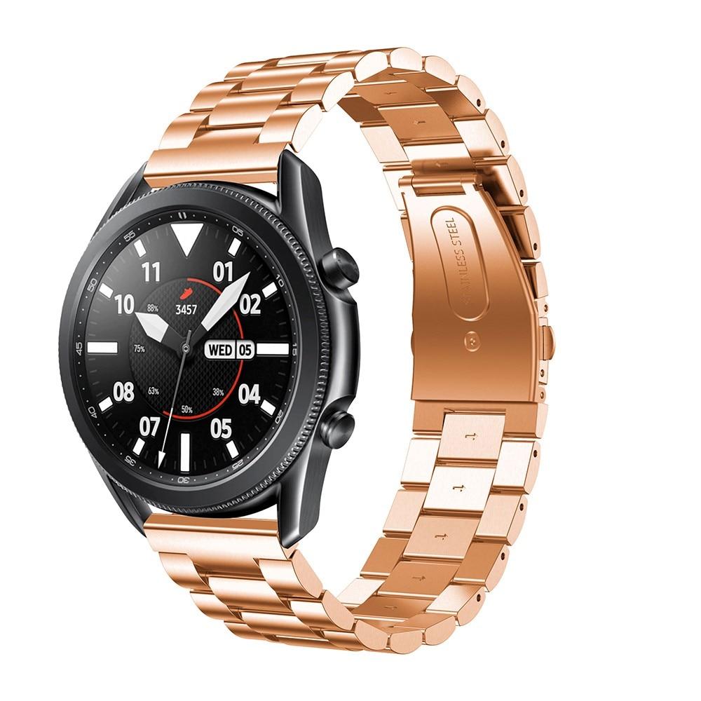 Metallarmbånd Samsung Galaxy Watch 4 40mm/Classic 42mm rosegull
