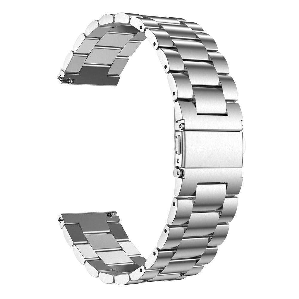 Metallarmbånd Universell 22mm sølv