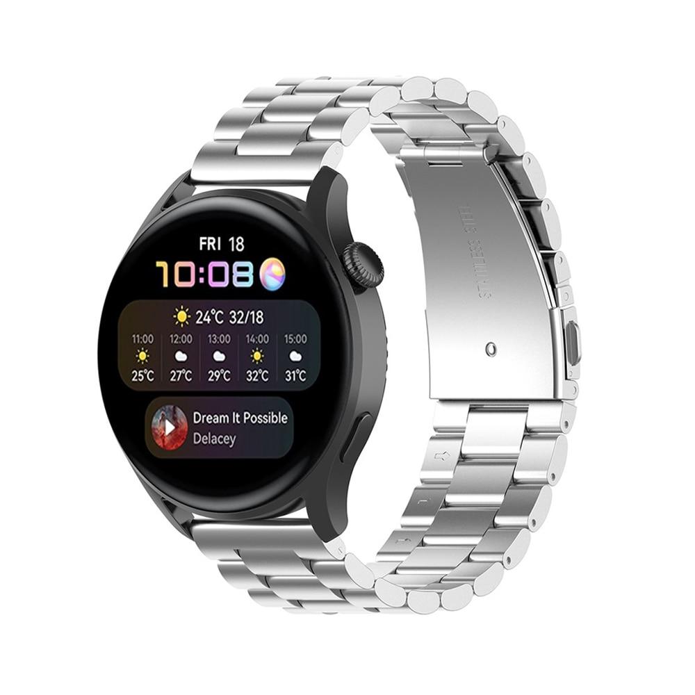 Metallarmbånd Huawei Watch 3/3 Pro sølv