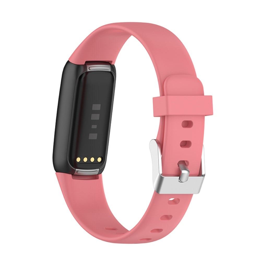 Silikonarmbånd Fitbit Luxe rosa (Small)