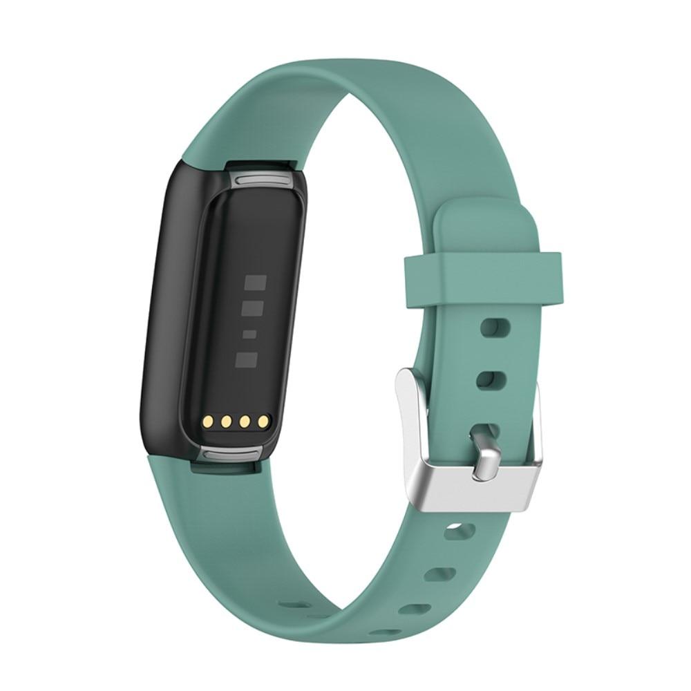 Silikonarmbånd Fitbit Luxe grønn(Small)
