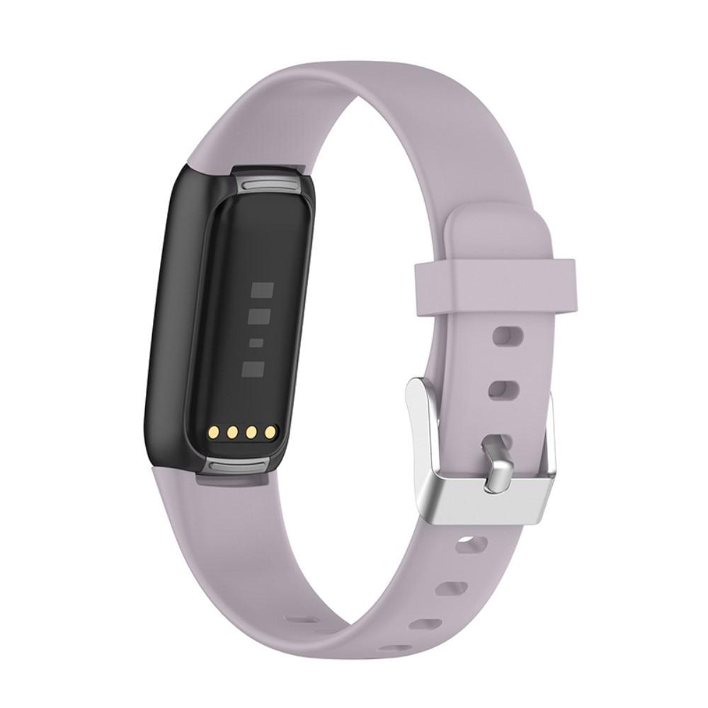 Silikonarmbånd Fitbit Luxe lilla (Small)