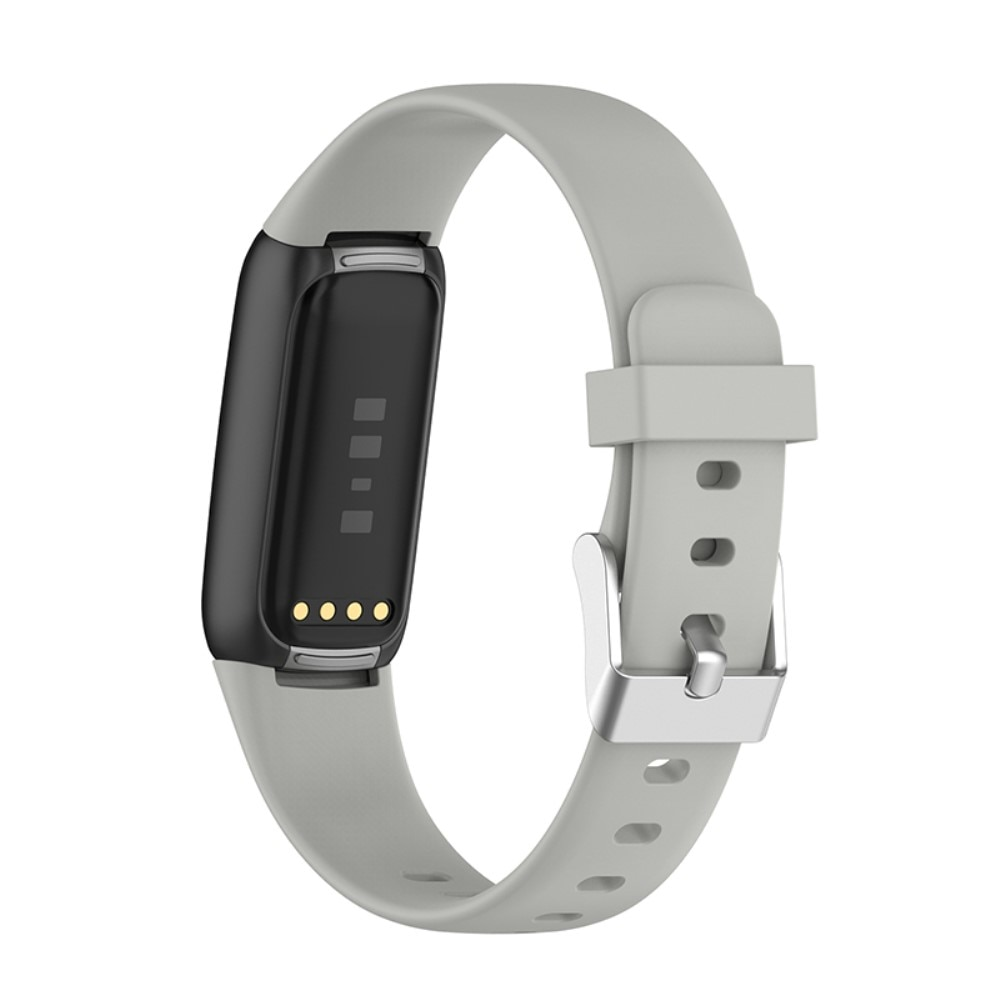 Silikonarmbånd Fitbit Luxe grå (Small)