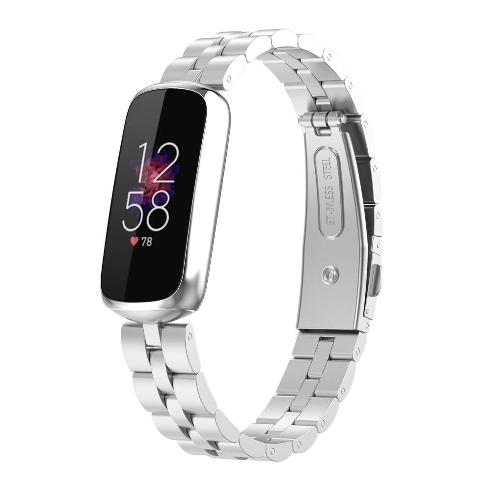 Metallarmbånd Fitbit Luxe sølv