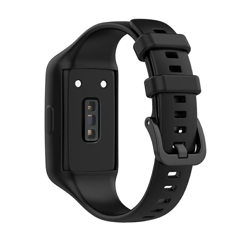 Silikonarmbånd Huawei Band 6 svart
