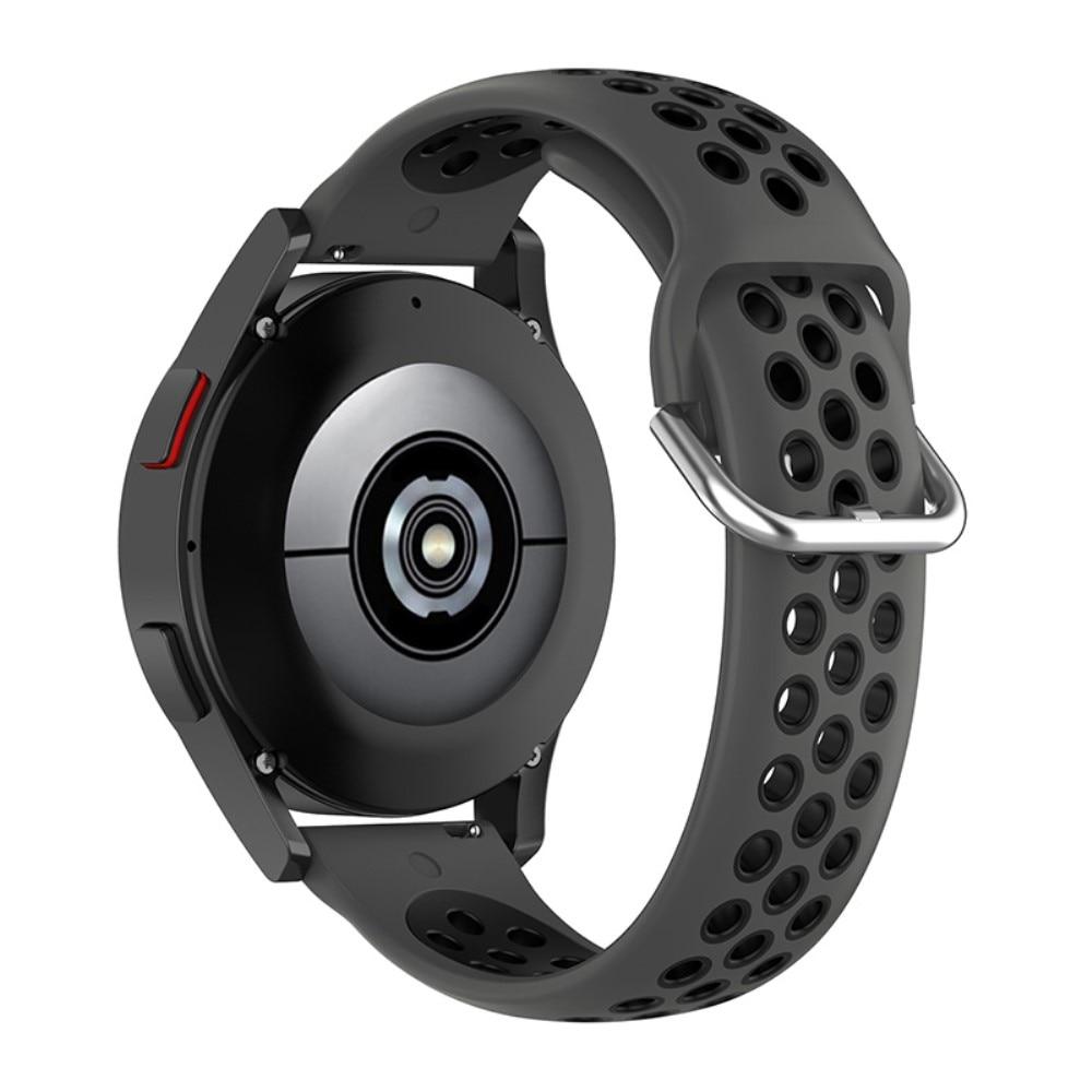 Silikonarmbånd Sport Galaxy Watch 4 44mm/Classic 46mm grå