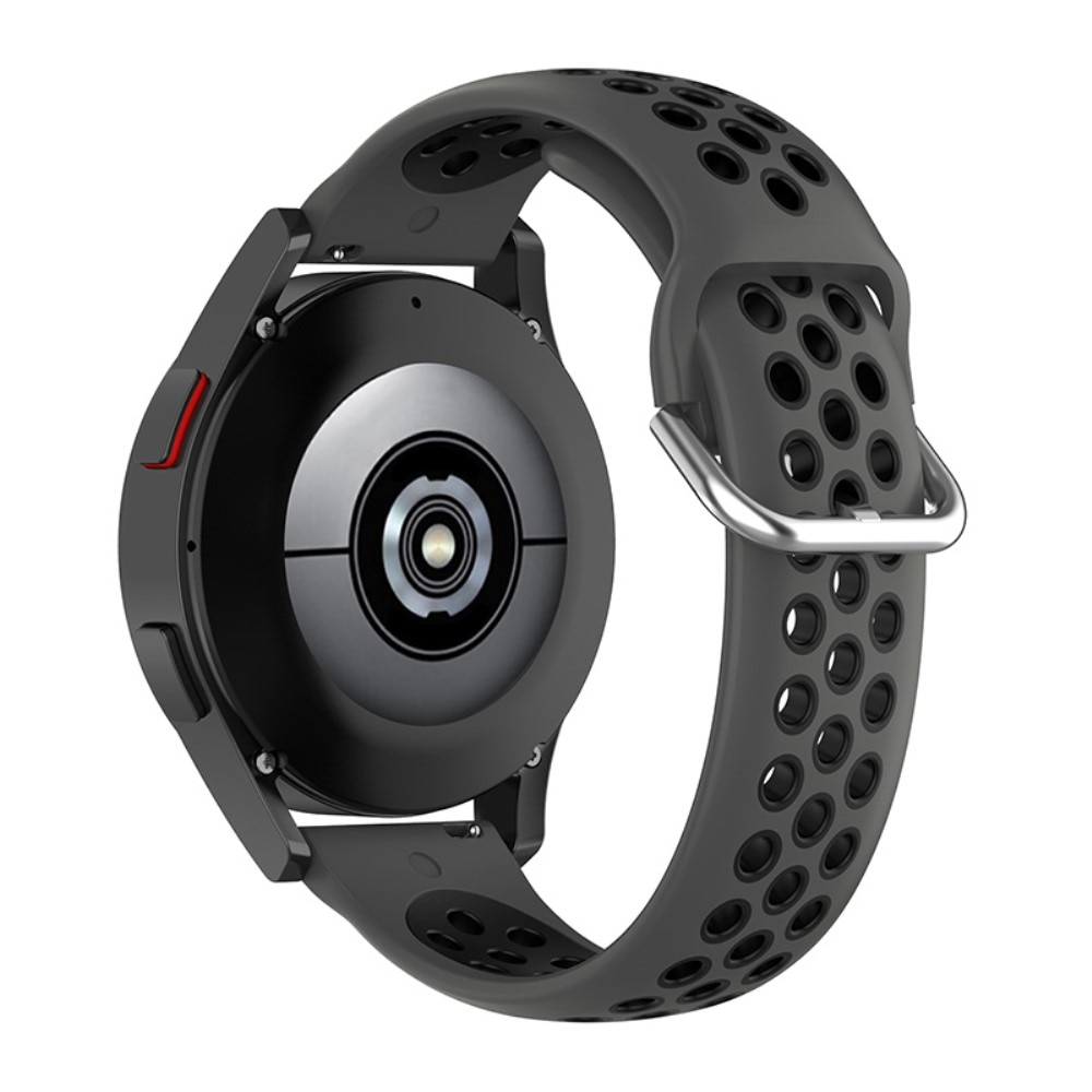 Silikonarmbånd Sport Galaxy Watch 4 40mm/Classic 42mm grå