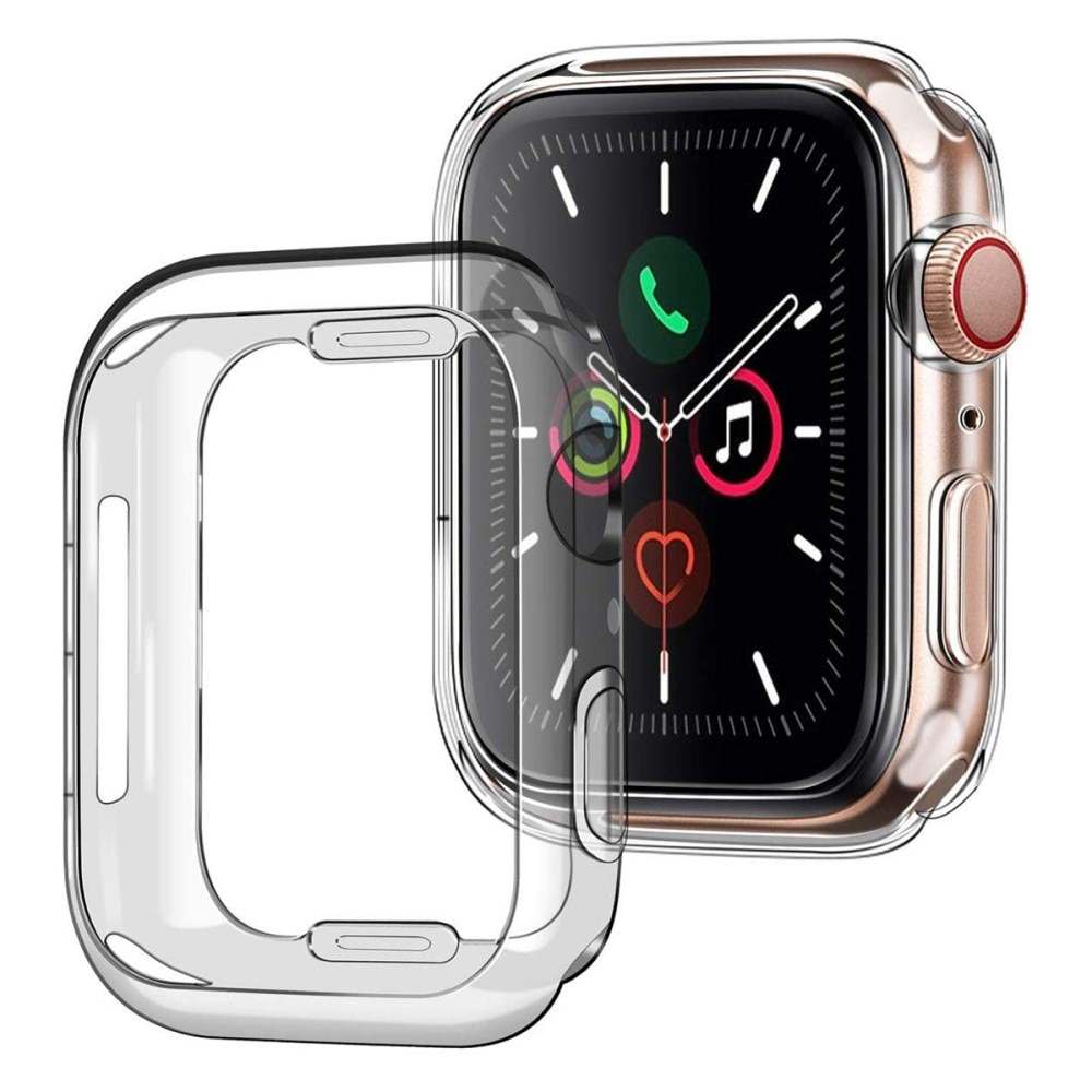 Full Protection Case Apple Watch 45mm Clear