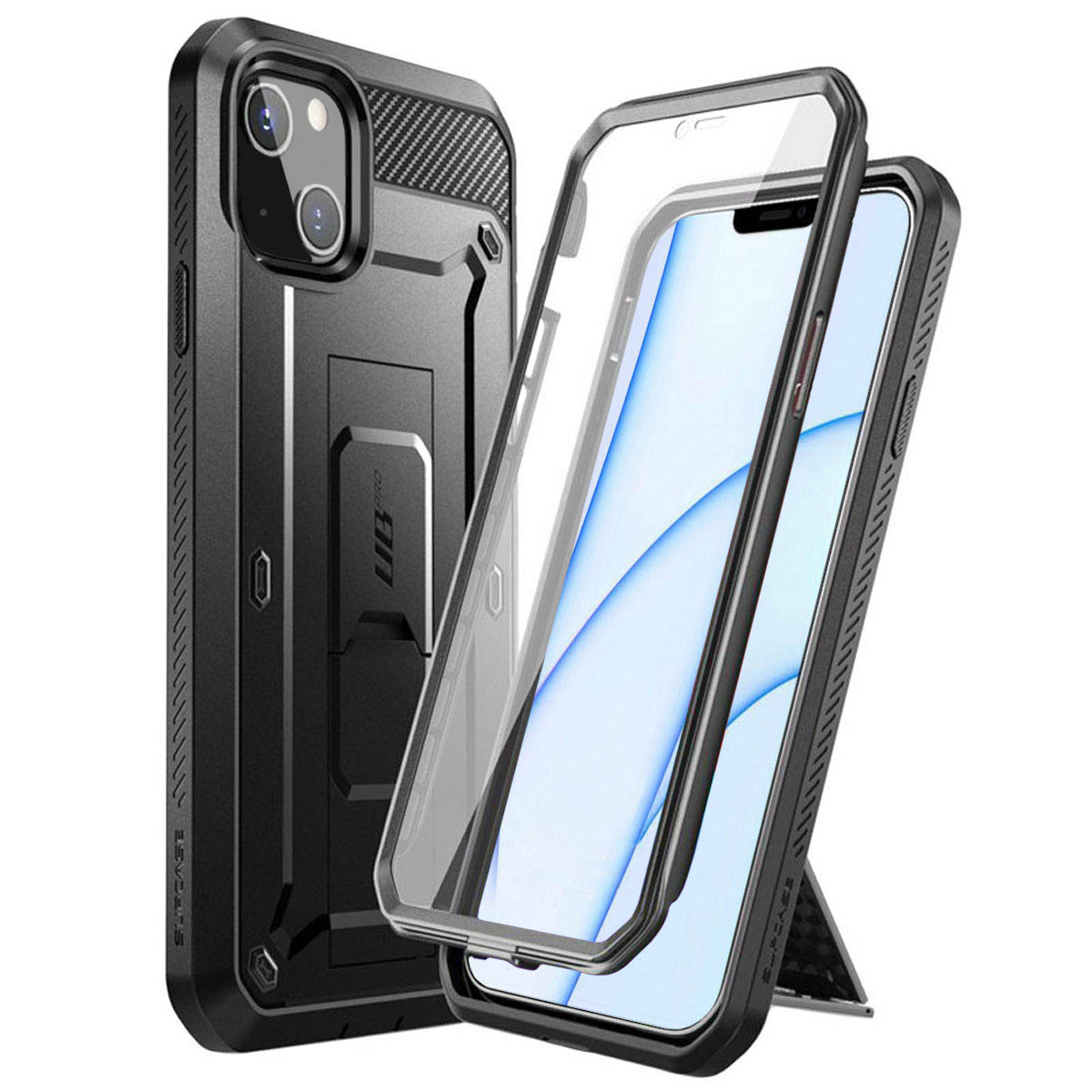 Unicorn Beetle Pro Case iPhone 13 Black