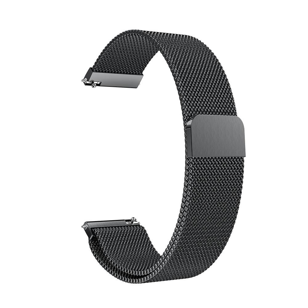Armbånd Milanese Garmin Vivoactive 4/Venu 2 svart