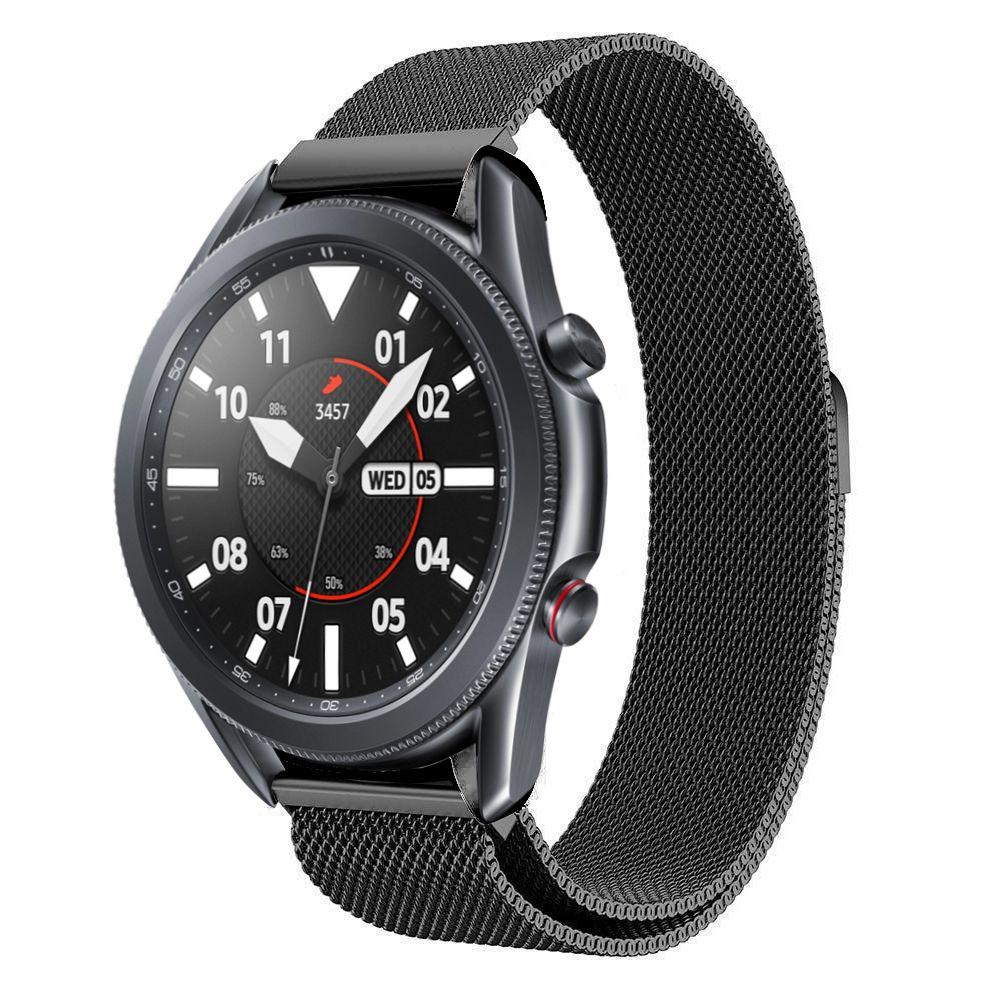 Armbånd Milanese Samsung Galaxy Watch 4 44mm/Classic 46mm svart