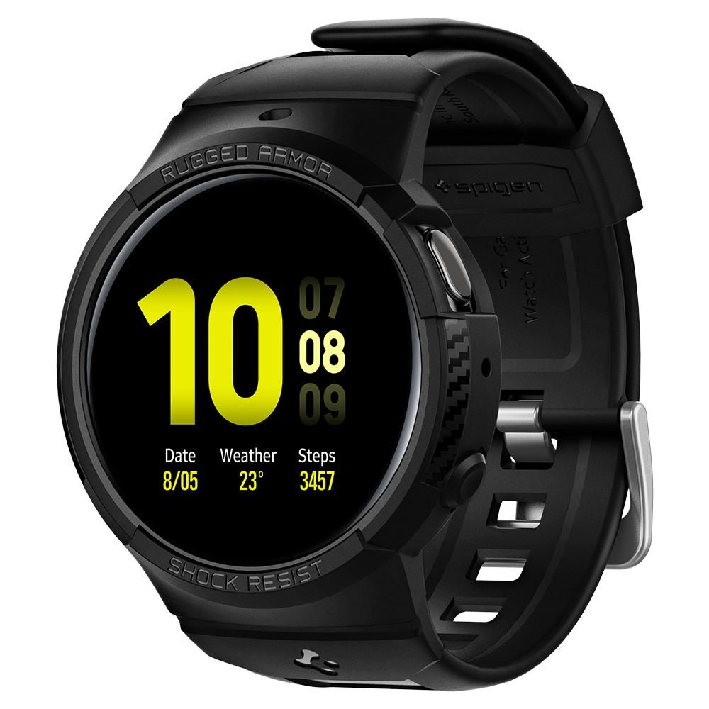 Galaxy Watch Active 2 44mm Case Rugged Armor Pro Black