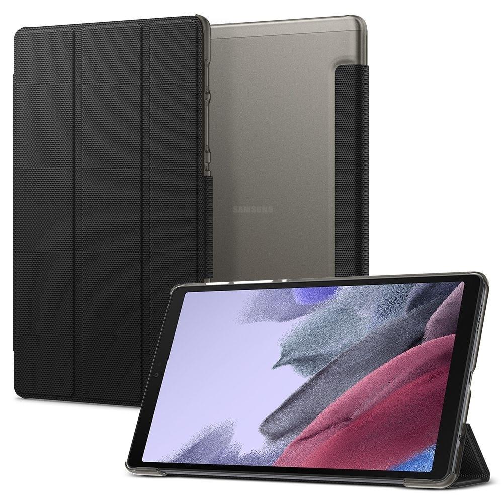 Galaxy Tab A7 Lite Case Liquid Air Folio Black