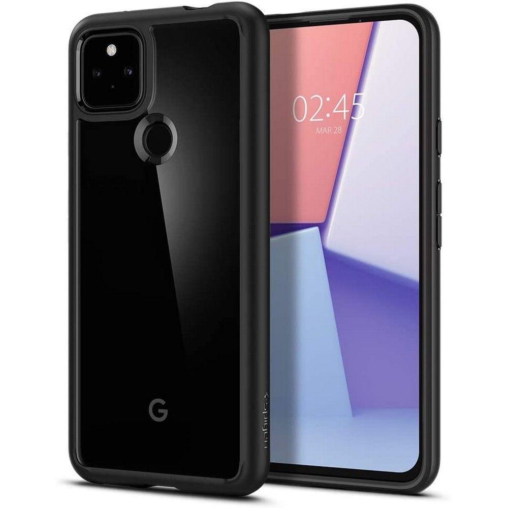 Google Pixel 5a Case Ultra Hybrid Matte Black