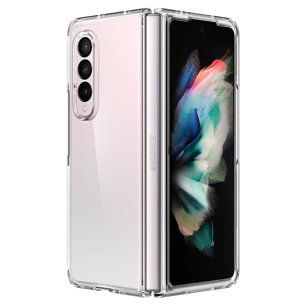 Galaxy Z Fold 3 Case Ultra Hybrid Crystal Clear
