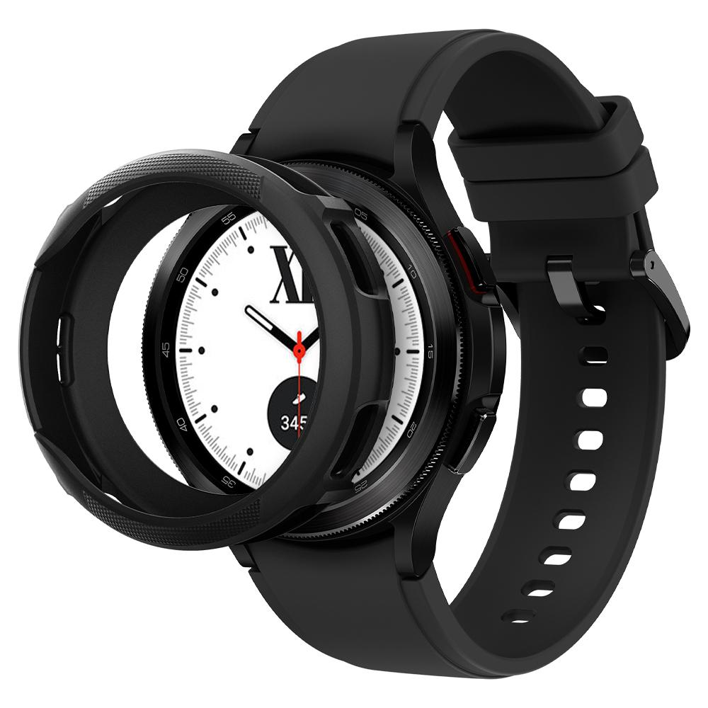 Galaxy Watch 4 Classic 42mm Case Liquid Air Black