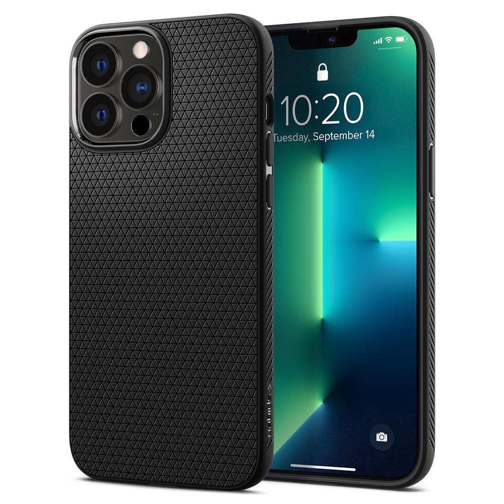 iPhone 13 Pro Max Case Liquid Air Black