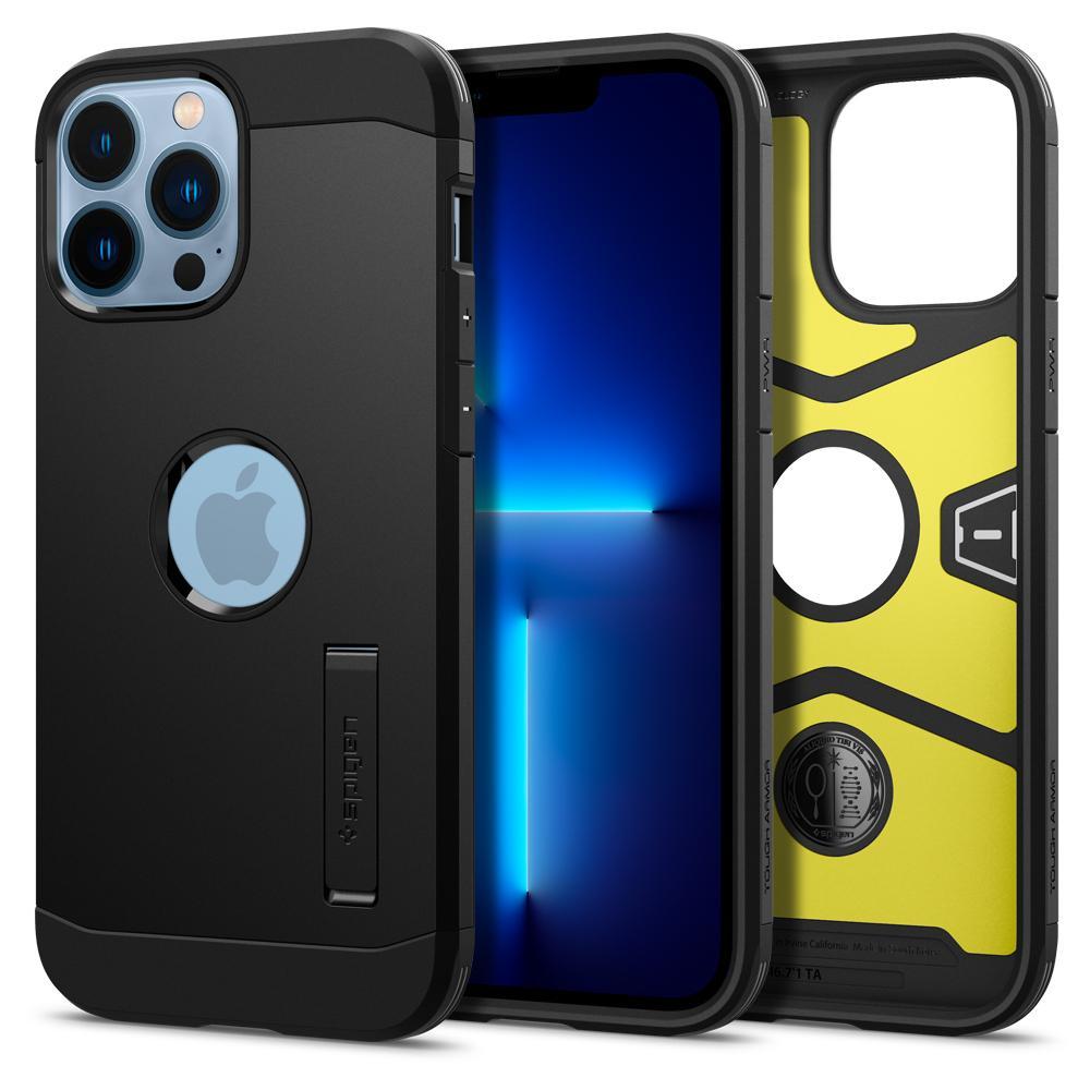 iPhone 13 Pro CiPhone 13 Pro Max Case Tough Armor Blackase Tough Armor Black