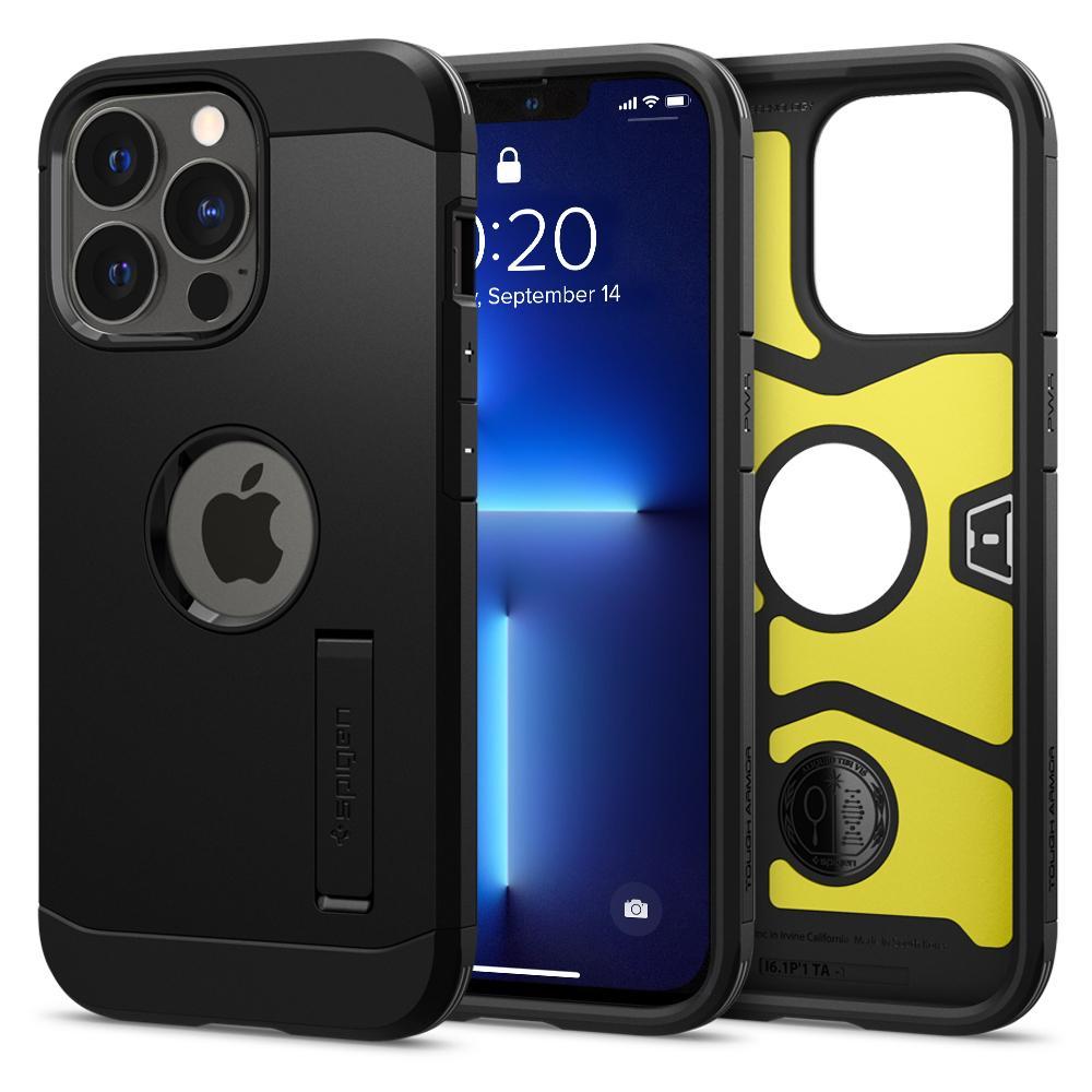 iPhone 13 Pro Case Tough Armor Black
