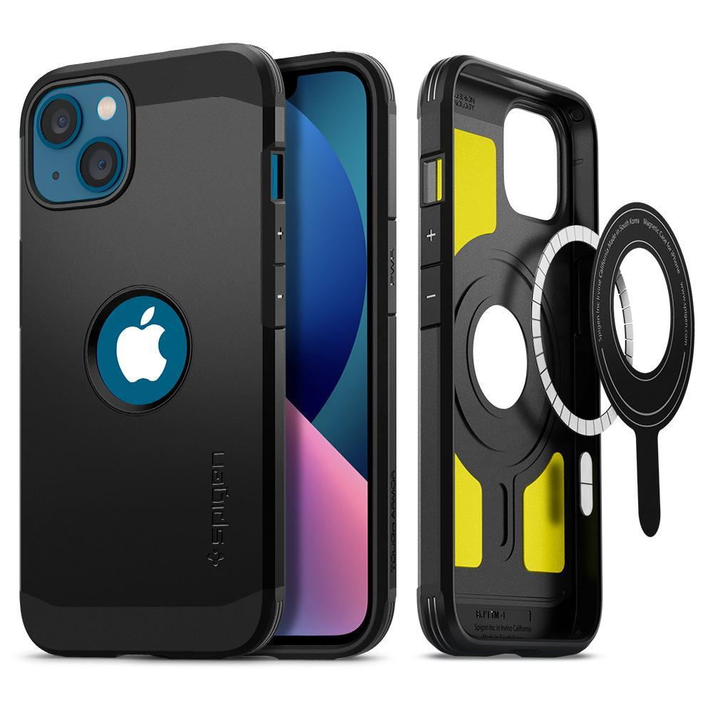 iPhone 13 Case Tough Armor Mag Black