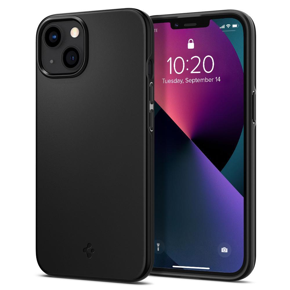 iPhone 13 Mini Case Thin Fit Black