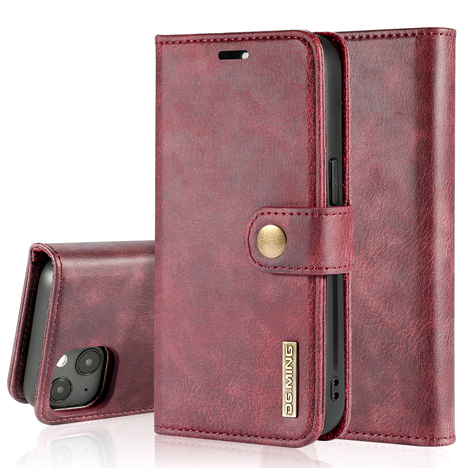 Magnet Wallet iPhone 13 Mini Red